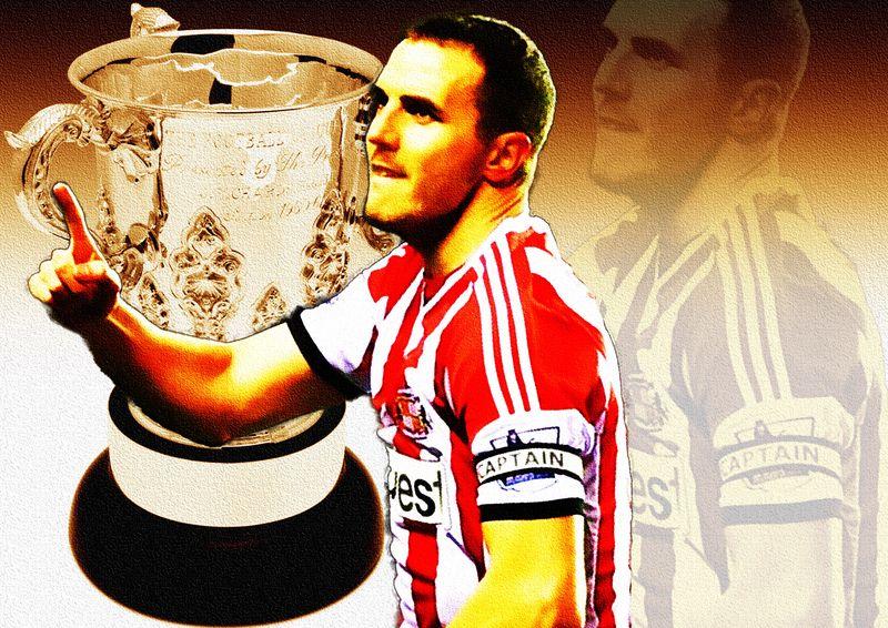 John O'Shea&Cup