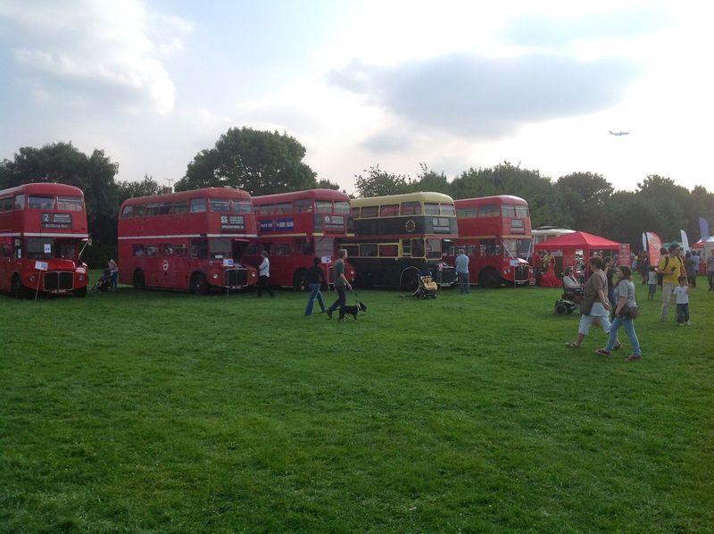 Park buses