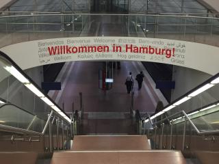 Hamburg g20 willkomen - 1