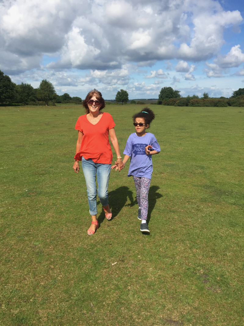 Maya and mamie new forest - 1