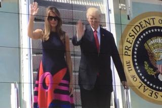 G20 trump arrives - 1