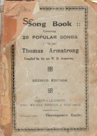 Tommy armstrong songbook - 1