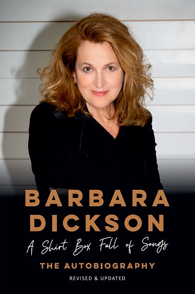 Barbara Dickson autobiography cover 2020